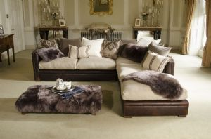 Tetrad Rodeo Corner Sofa in Ralph Lauren Signature Fabric